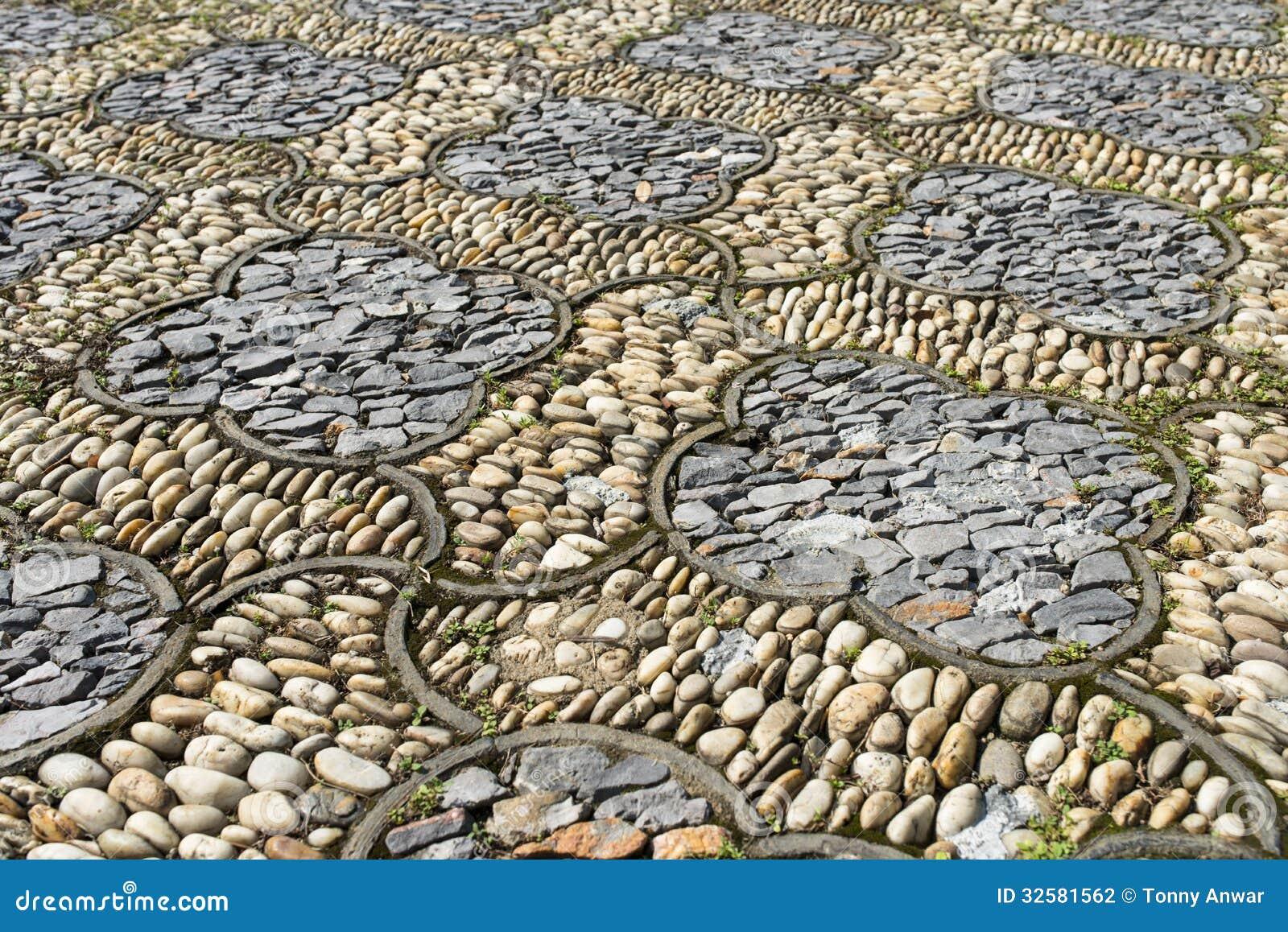 Flora Stone Pavement