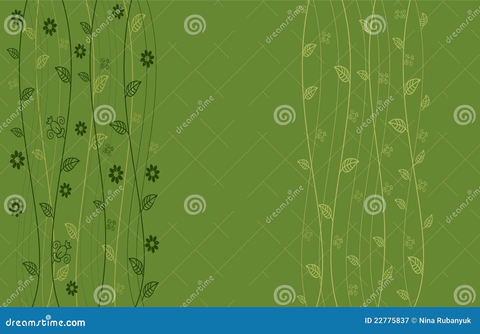 Floral άνευ ραφής ανασκόπησης