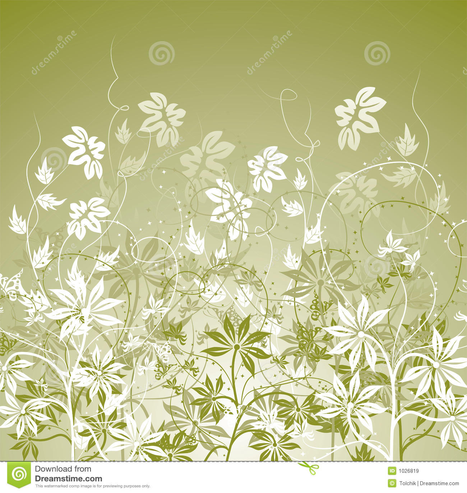 Floral διάνυσμα ανασκόπησης