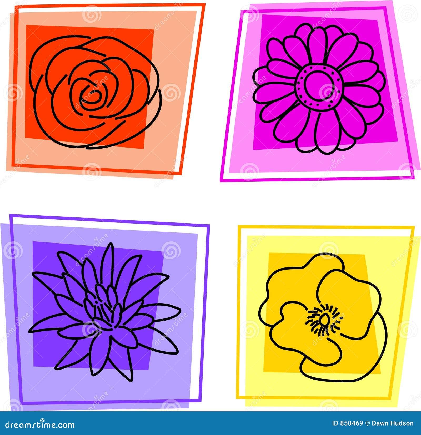 Floral εικονίδια
