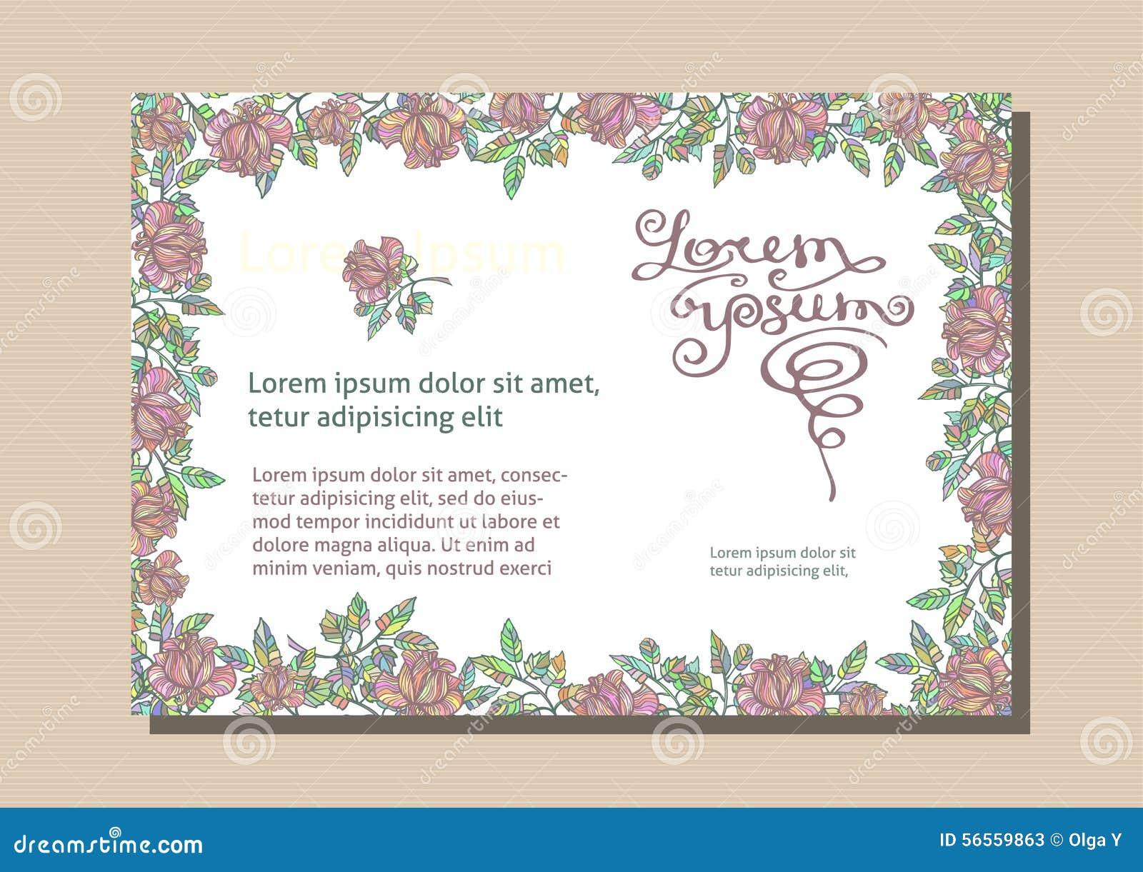 Download Floral επαγγελματική κάρτα Η άνευ ραφής σύσταση είναι πλήρης Διανυσματική απεικόνιση - εικονογραφία από λουλούδι, arroyos: 56559863