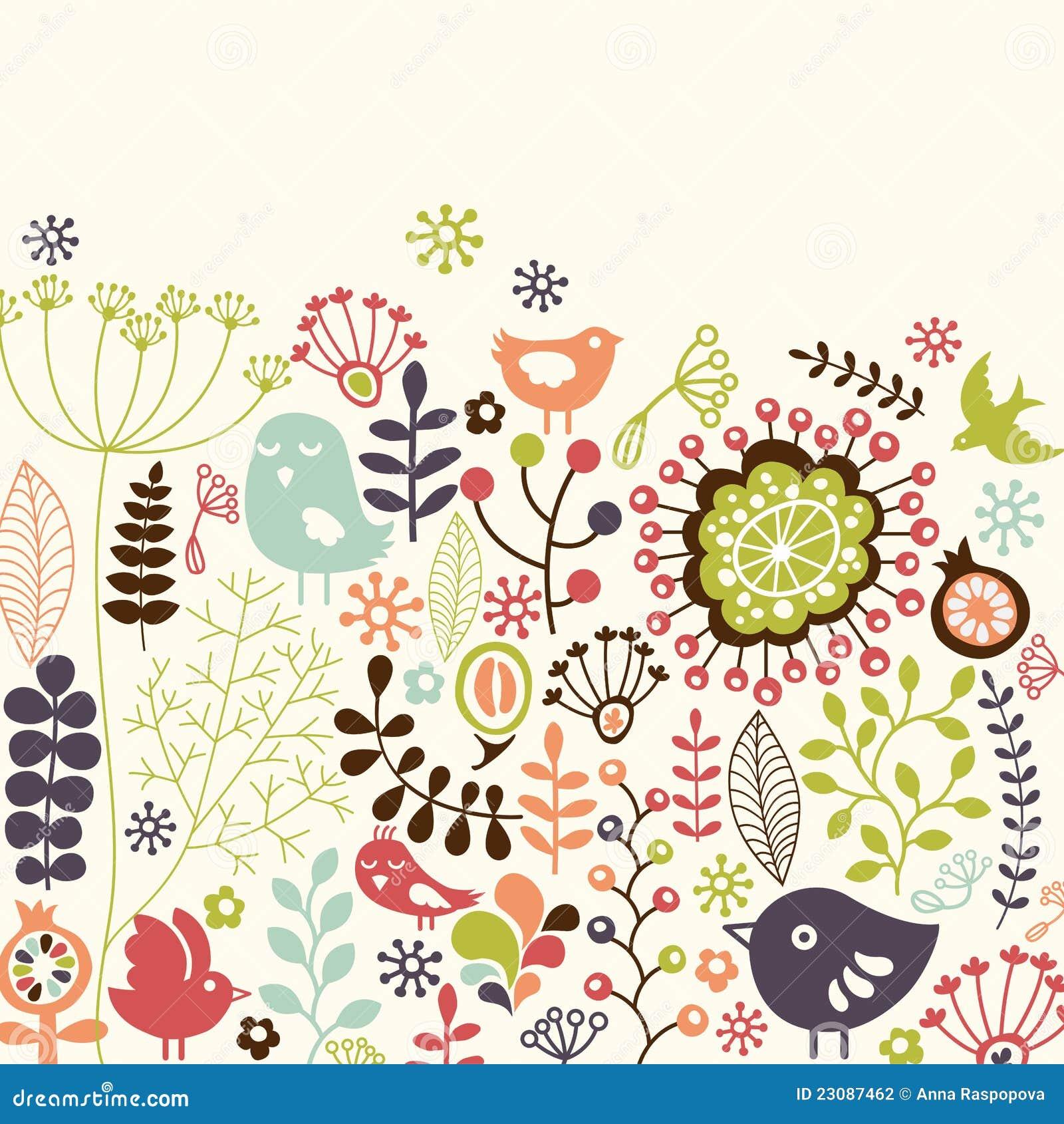 Floral κάρτα