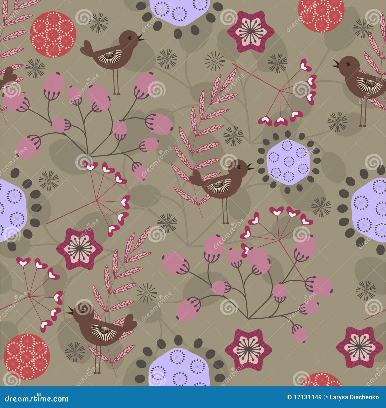 Floral τρύγος προτύπων