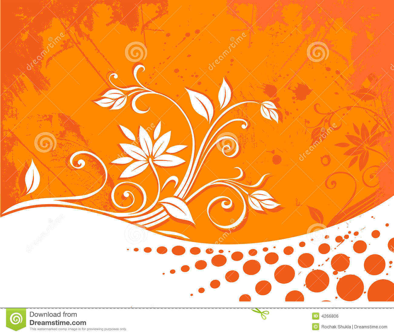 Floral Background Royalty Free Stock Image Image 4266806