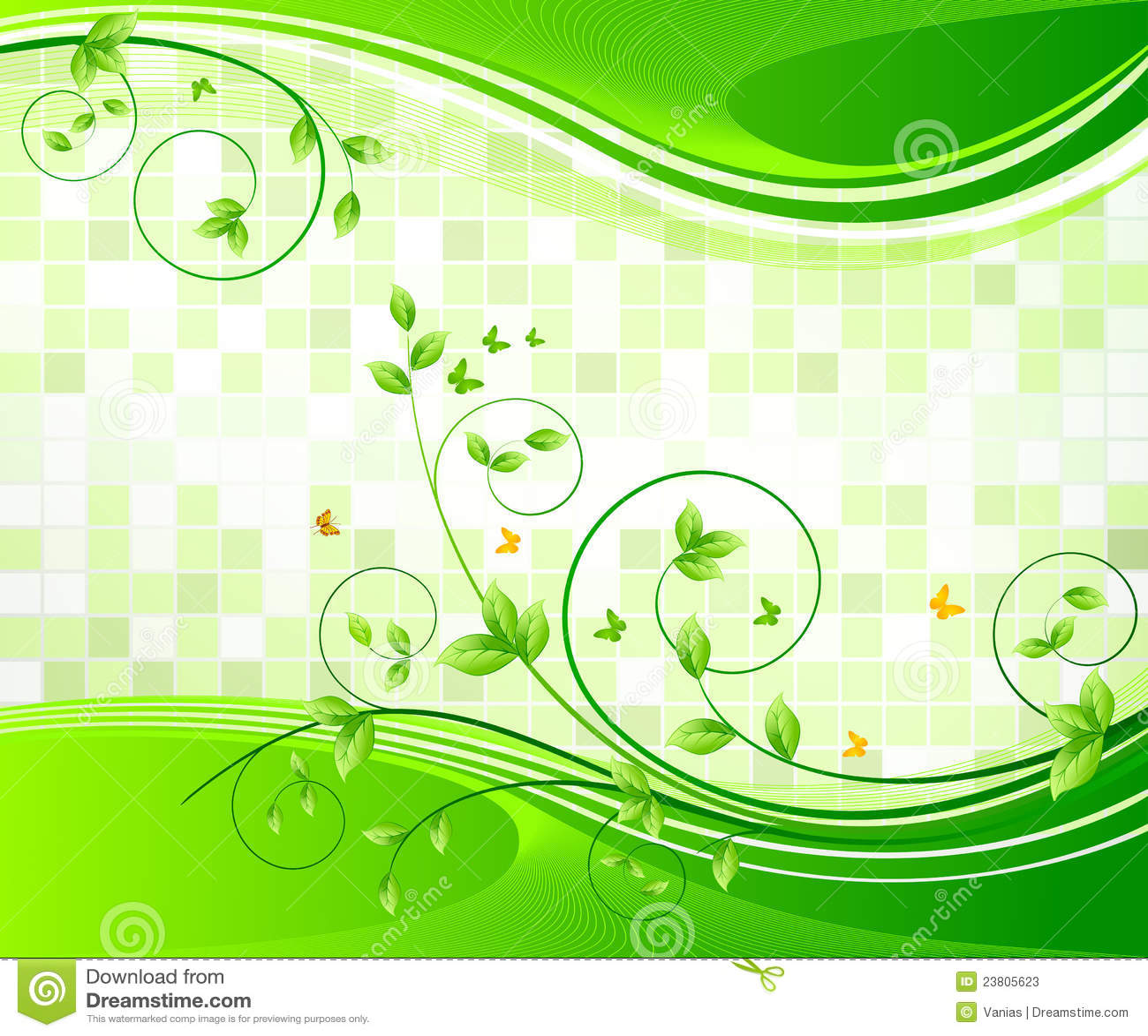 Floral Background Design Stock Vector Illustration Of Pattern