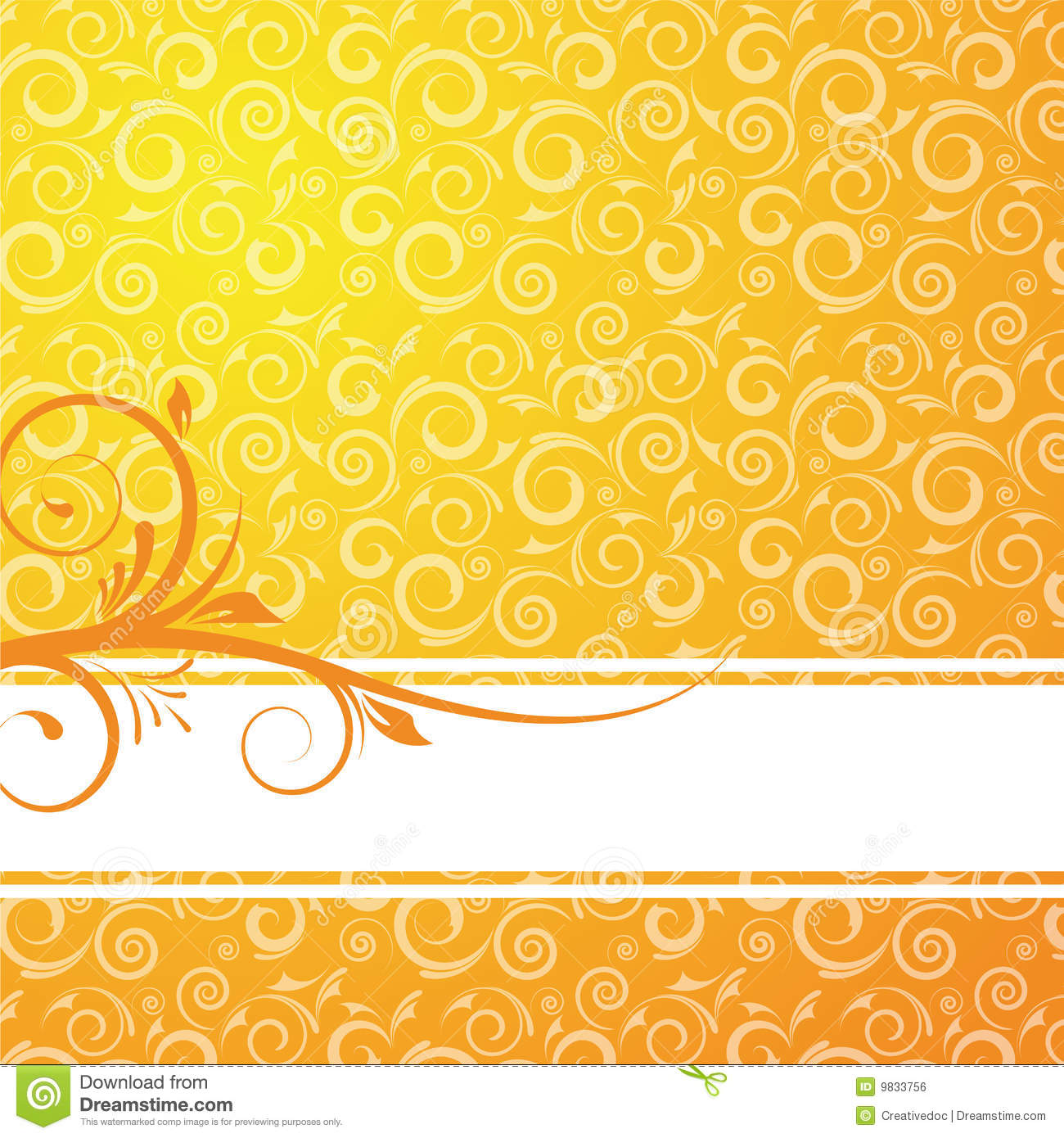 Floral Background For Design Royalty Free Stock Image - Image: 9833756