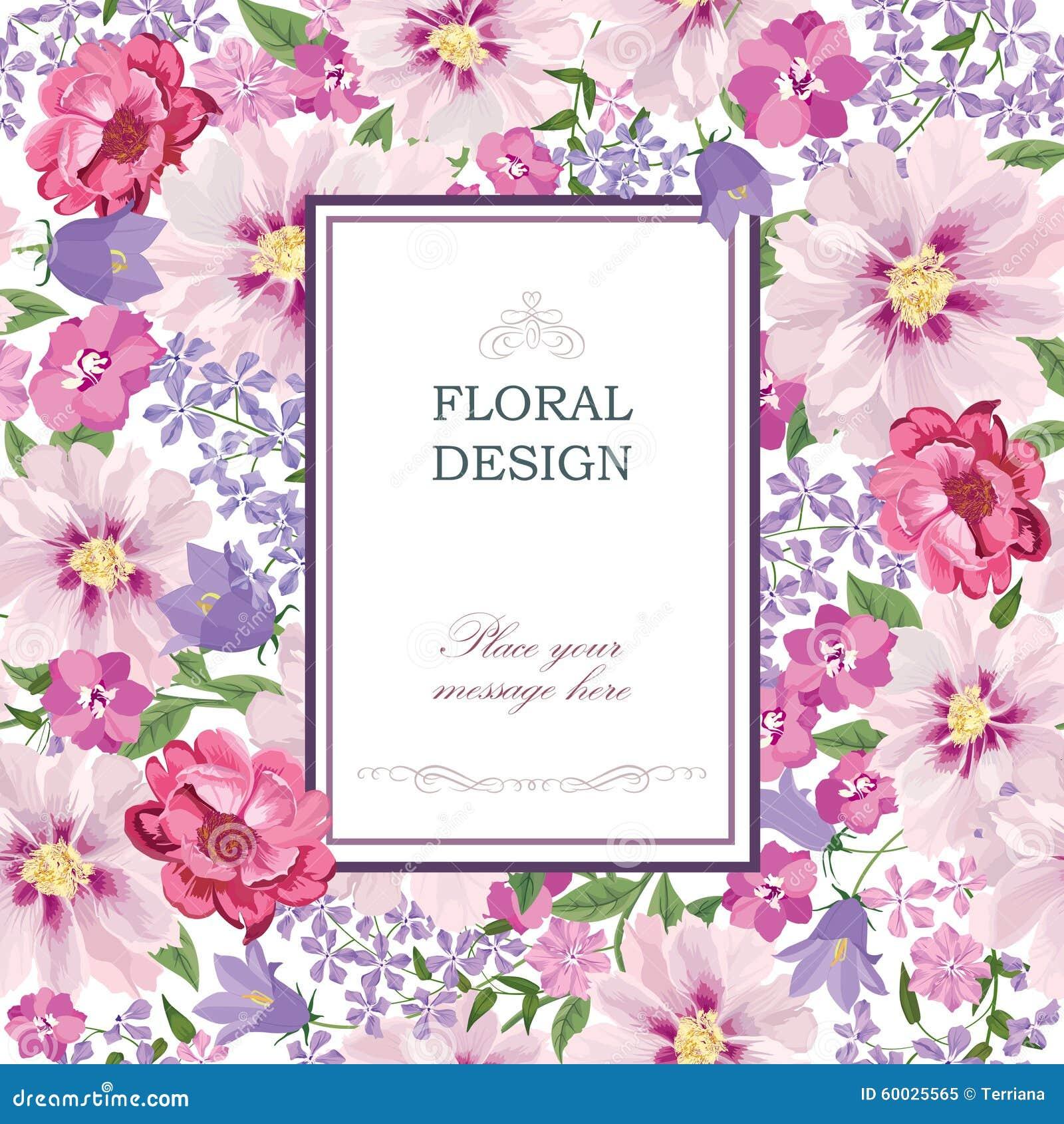 Floral background flower bouquet vintage cover flourish pattern wallpaper s - Papier peint annee 50 ...