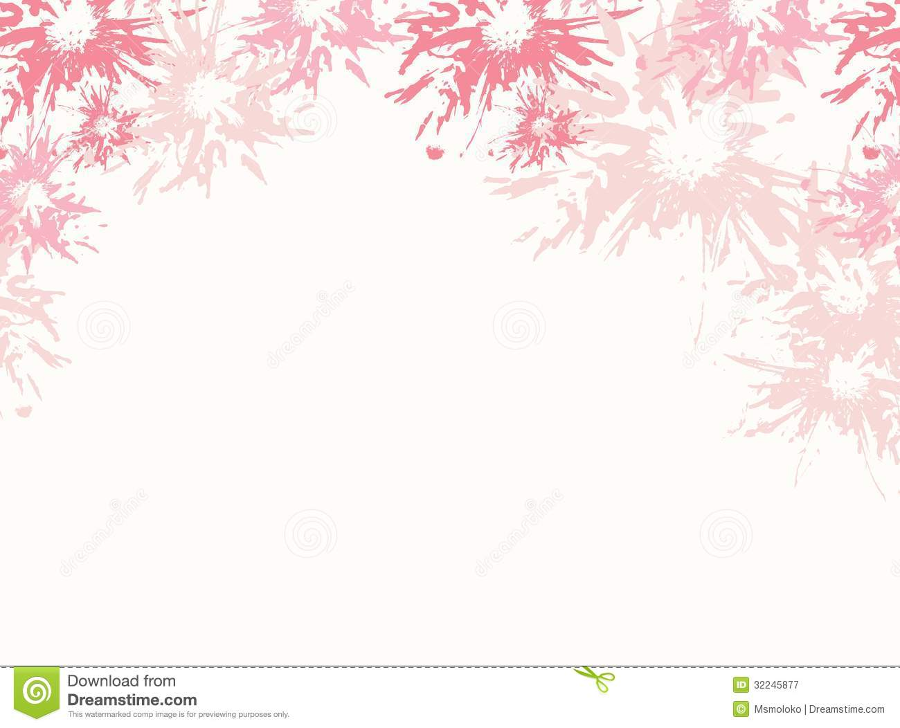 Floral Background Stock Vector Illustration Of Colorful