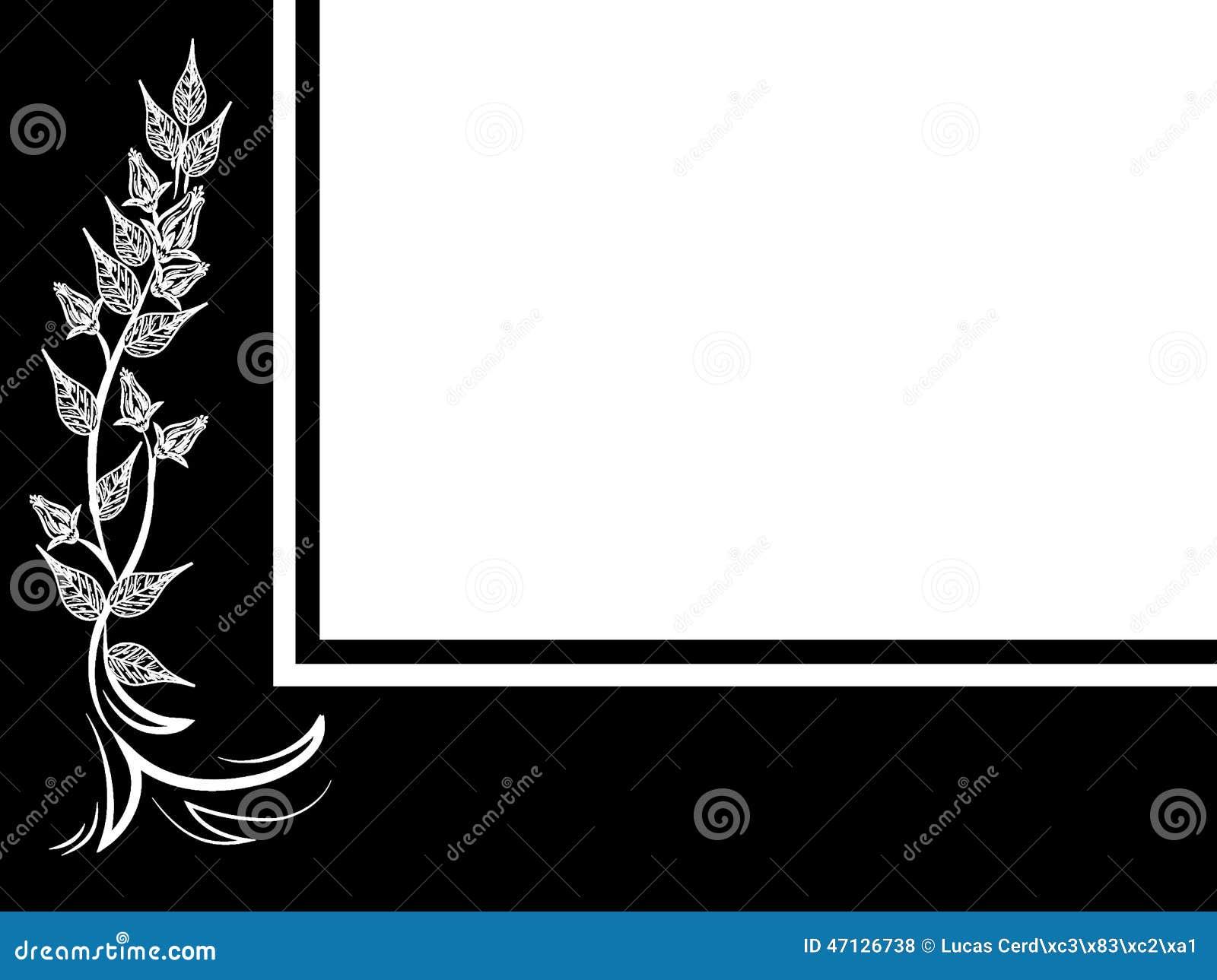 floral background stock illustration illustration of banner 47126738