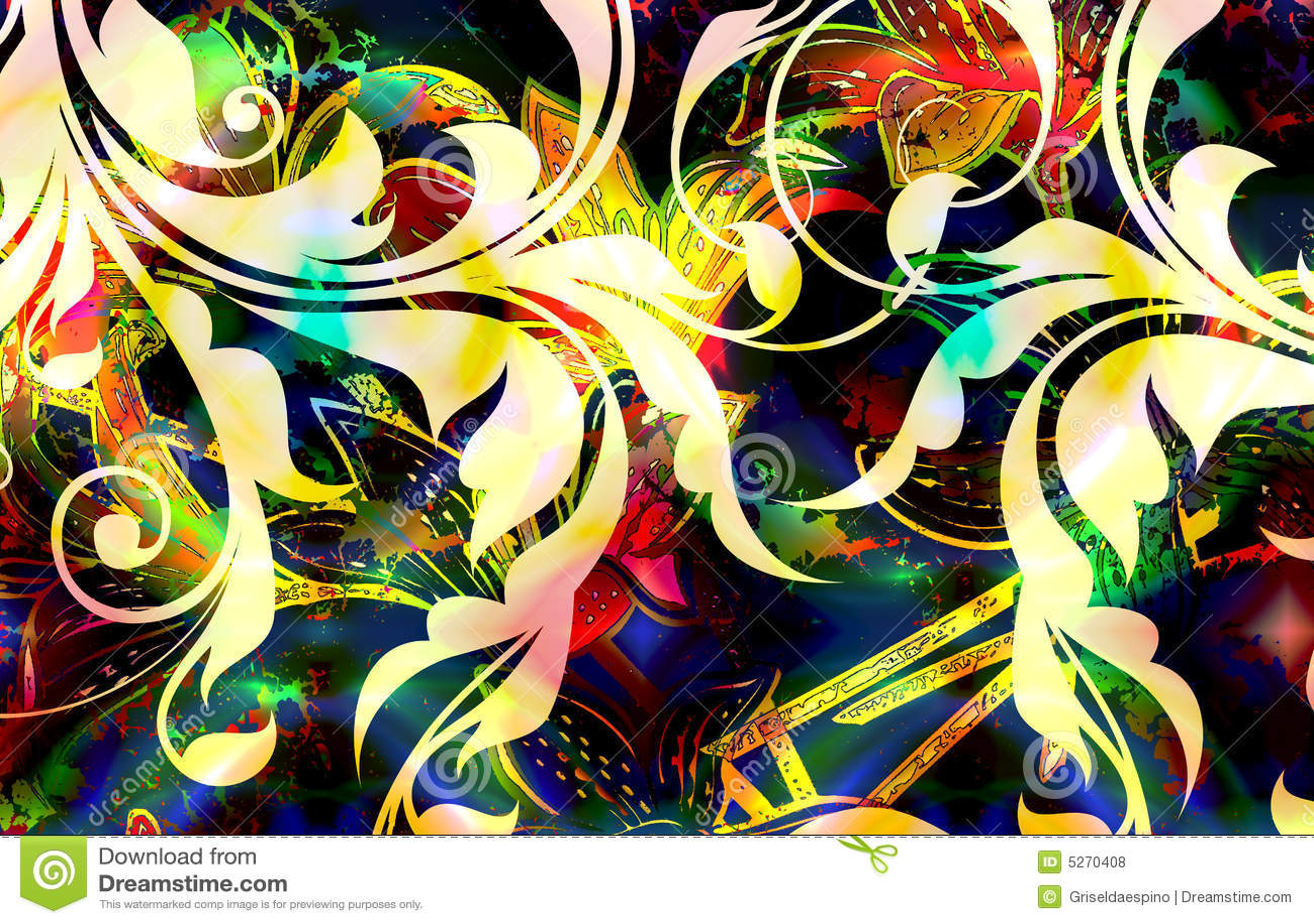 Batik Design Floral batik