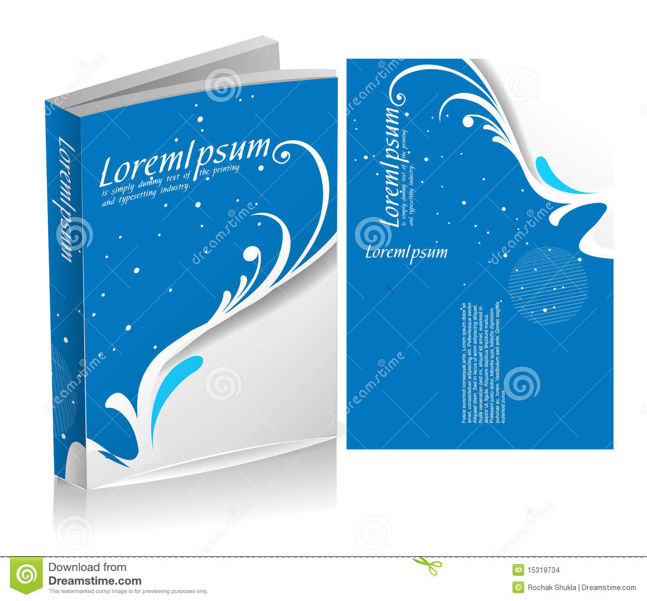 Book Cover Design Royalty Free Stock Photos - Image: 15319578