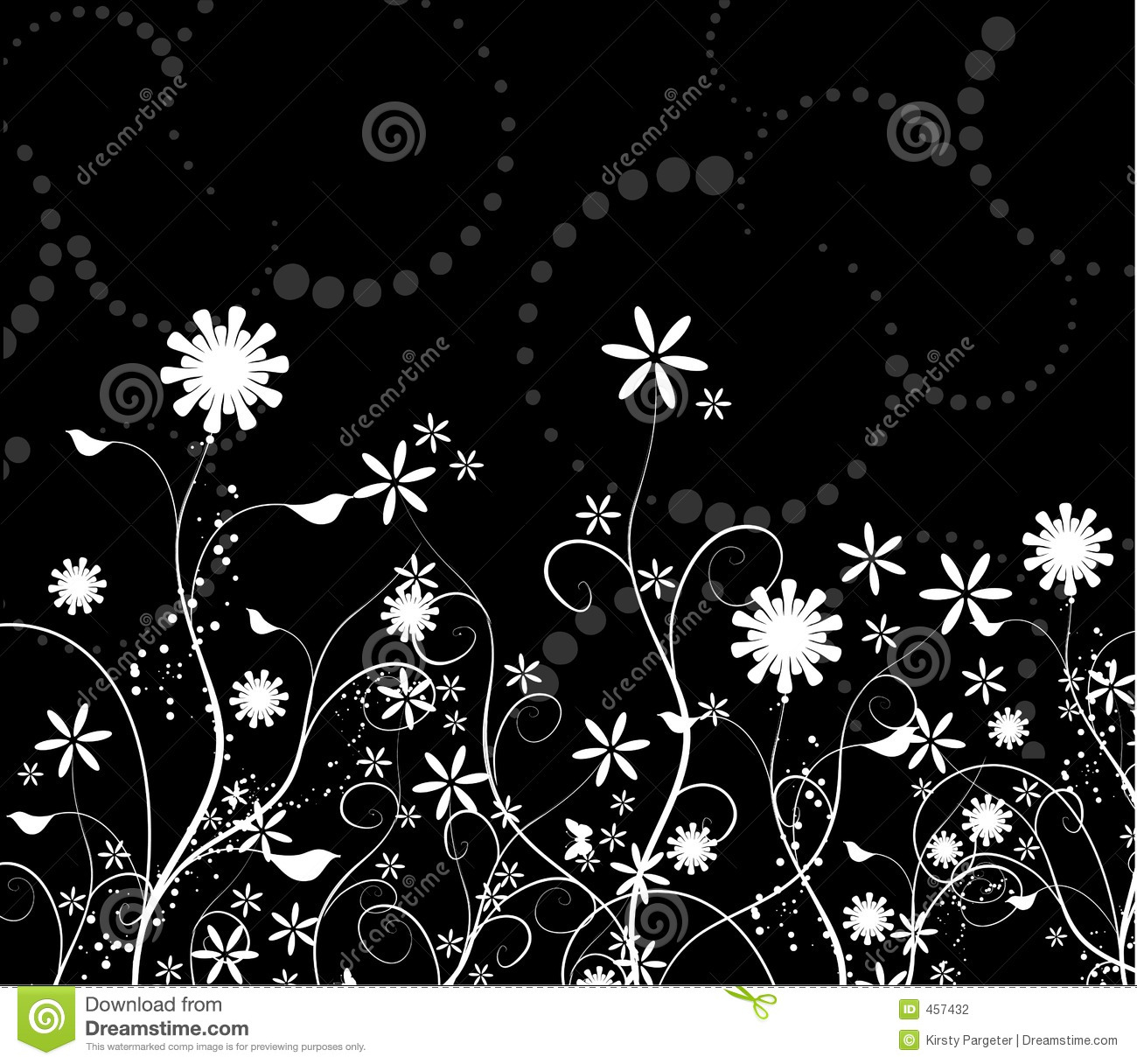 Download Floral chaos stock vector. Illustration of background, nature - 457432