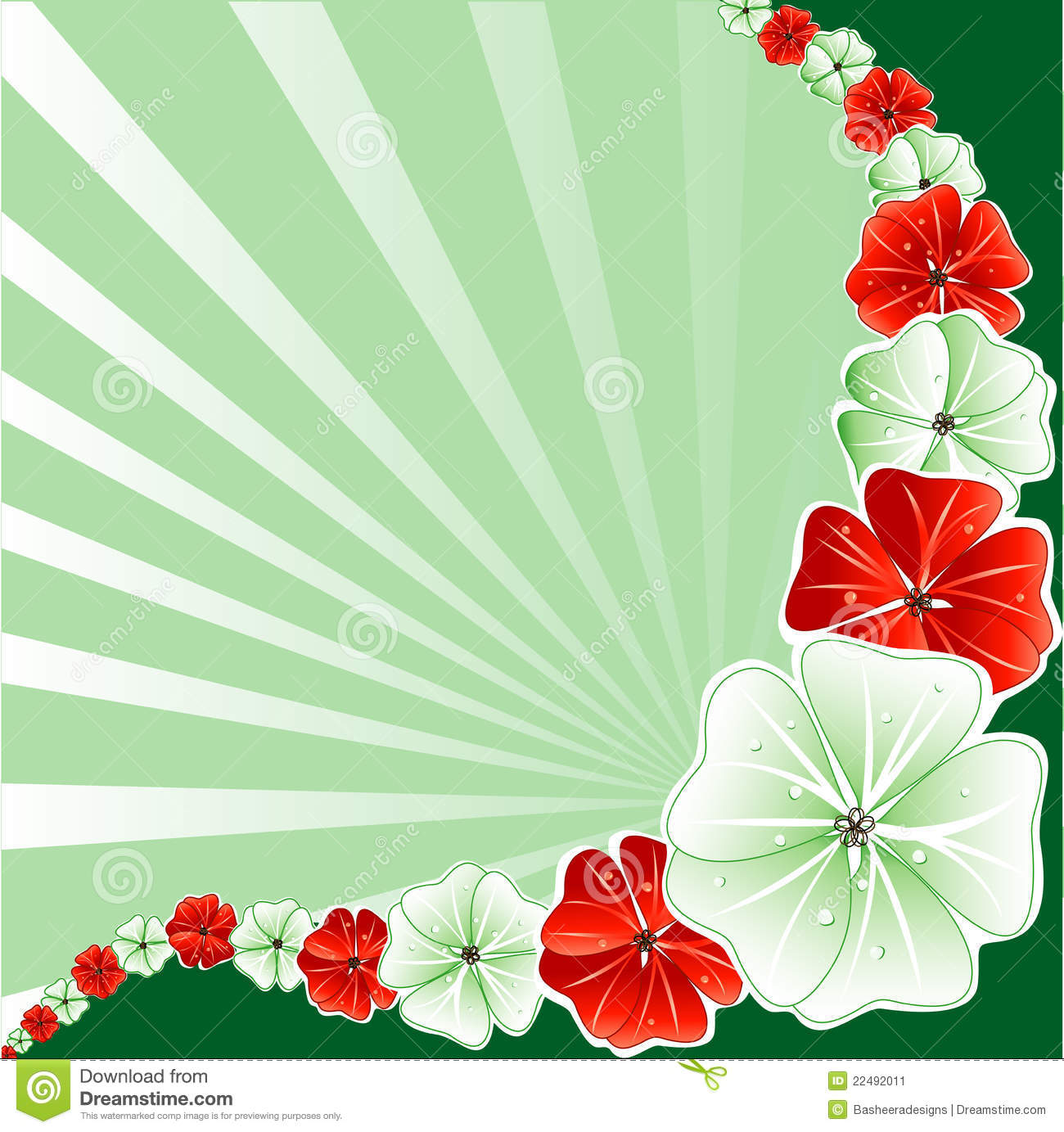 floral christmas background 3 - Christmas In Hawaiian