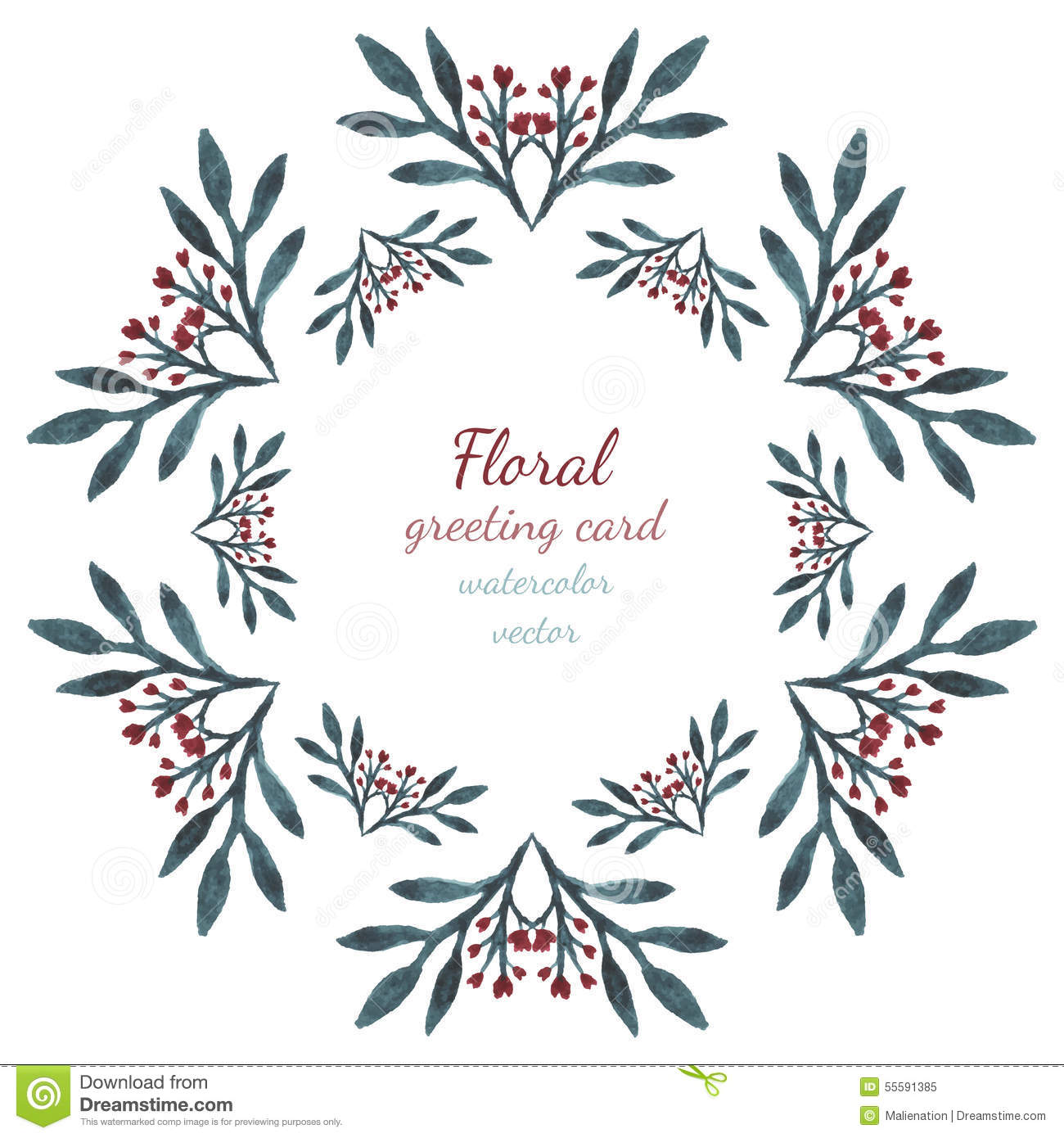 Floral collection with leaves and flowers hearts drawing vector floral collection with leaves and flowers hearts drawing vector frame watercolor design for invitation wedding or greeting card illustration 55591385 m4hsunfo