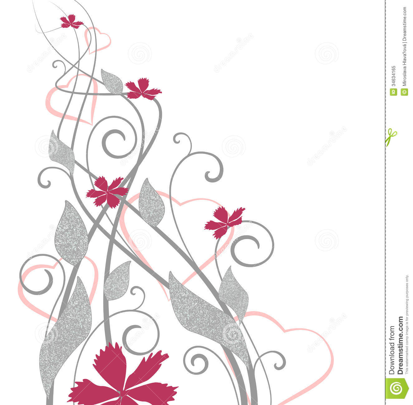 Floral Decoration floral decoration royalty free stock photo - image: 34634165