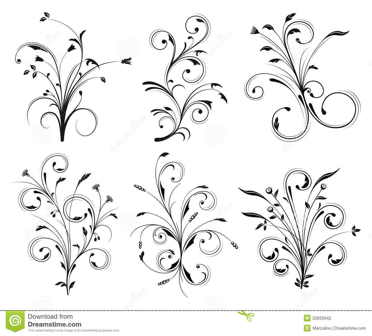 Floral Decorations floral decorations stock photography - image: 33833342
