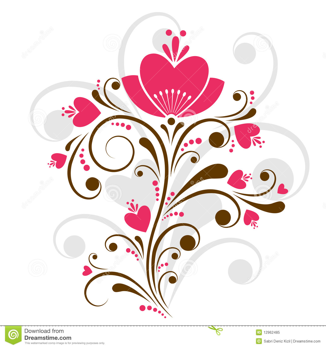 Decoration App Floral Design Vector Royalty Free Stock Photo Image