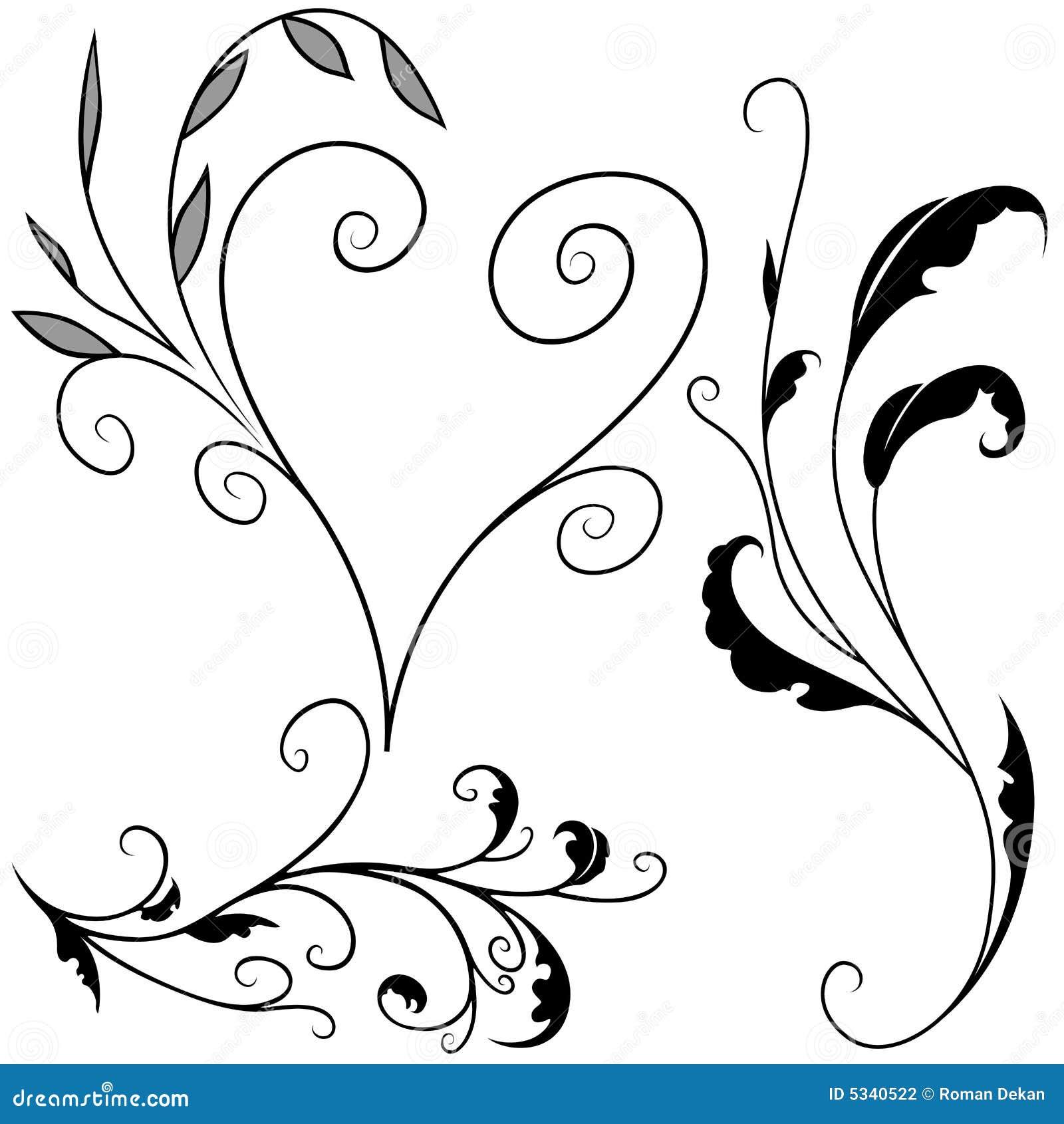 Floral elements G