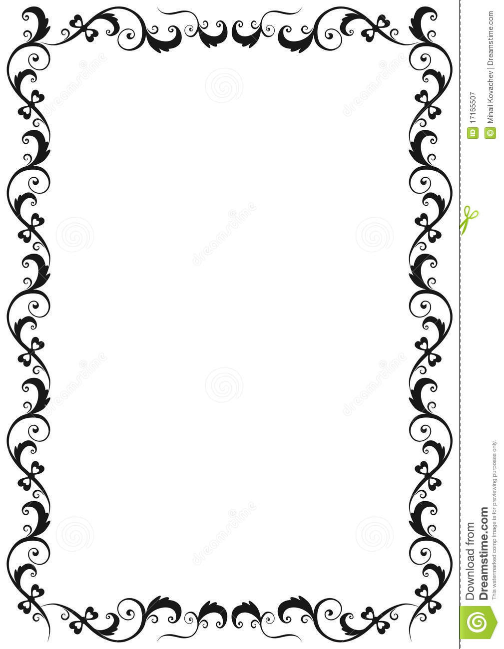 Floral Frame Royalty Free Stock Photography - Image: 17165507