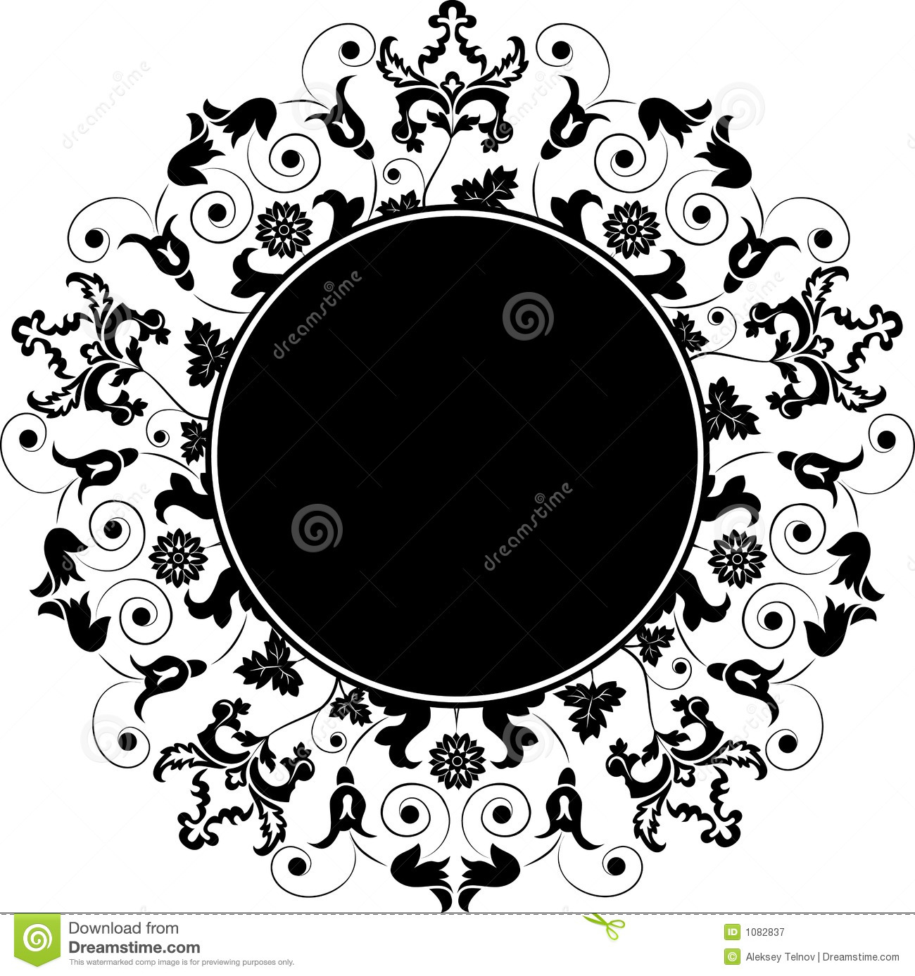 Floral Element For Design - Vector Stock Images - Image: 16331804