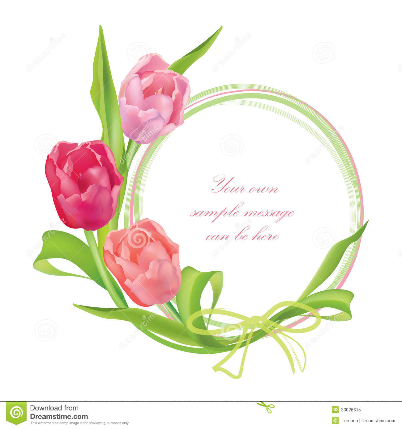 Floral frame set with flower tulip bouquet design floral elements floral frame set with flower tulip bouquet design floral elements altavistaventures Images