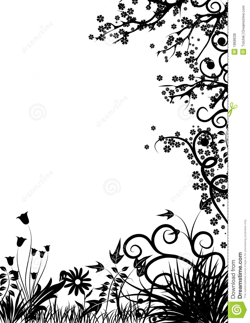 Batik pattern background in vector royalty free stock photos image - Floral Frame Vector Royalty Free Stock Photos Image