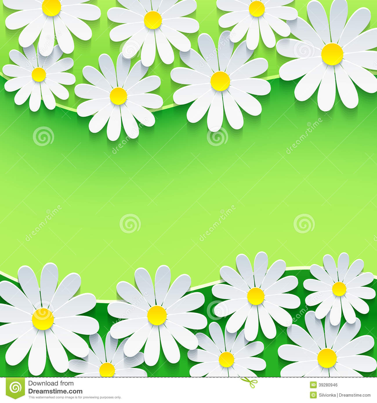 free green floral frame - photo #43