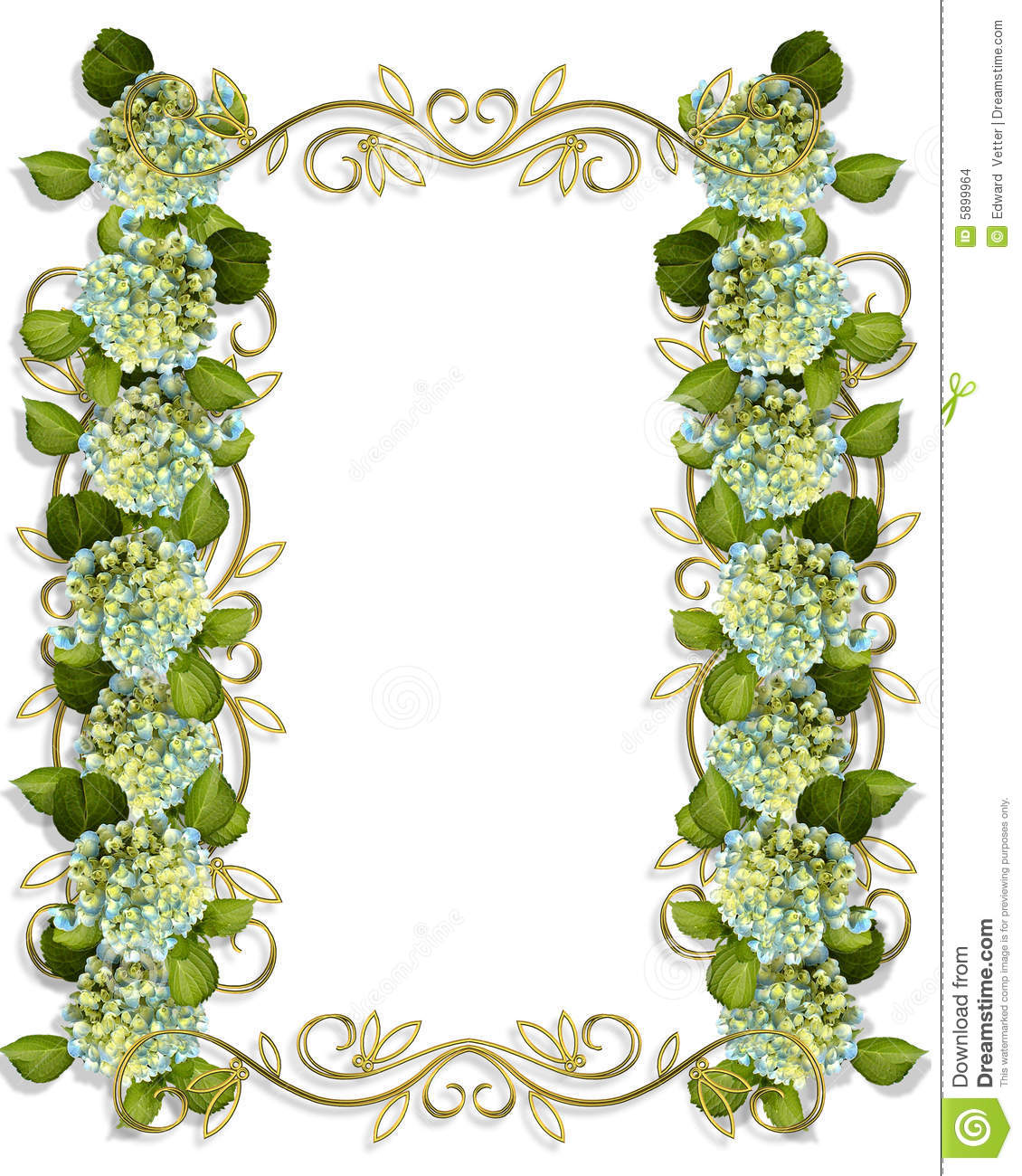 Floral Invitation Template Stock Images - Image: 5899964