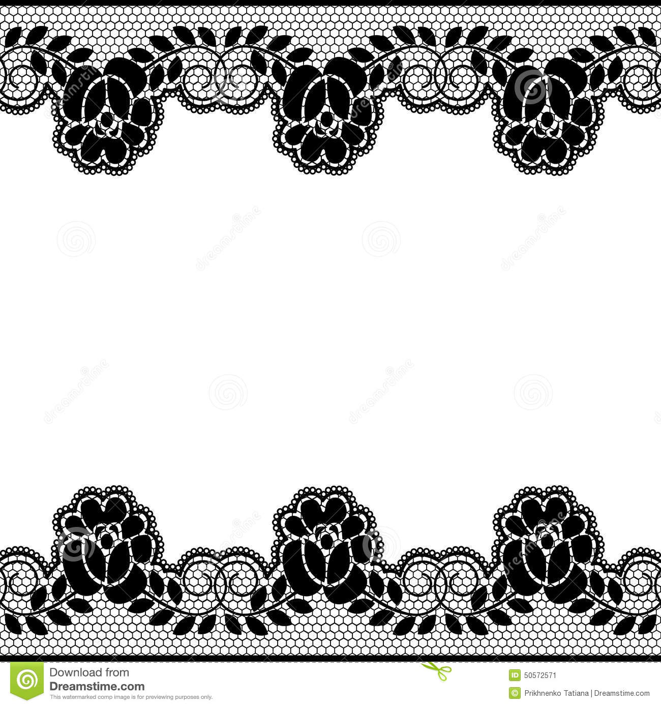 how to draw floral lace