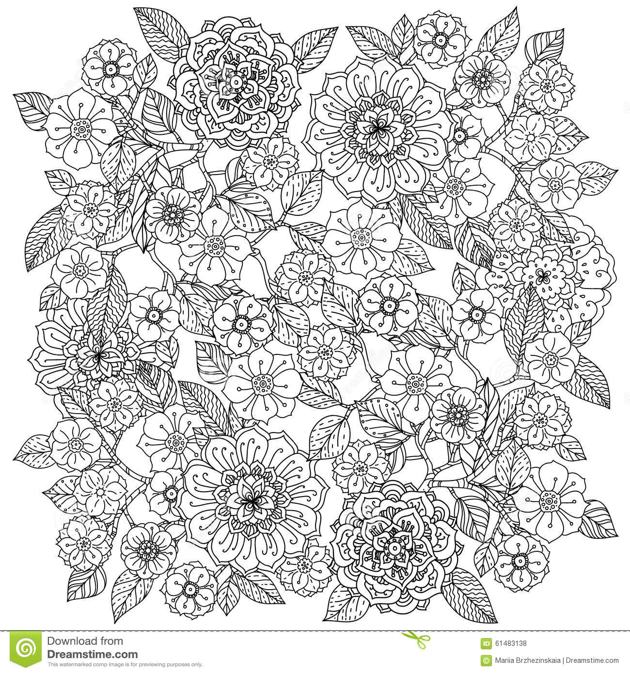 Coloring Book Page Designs