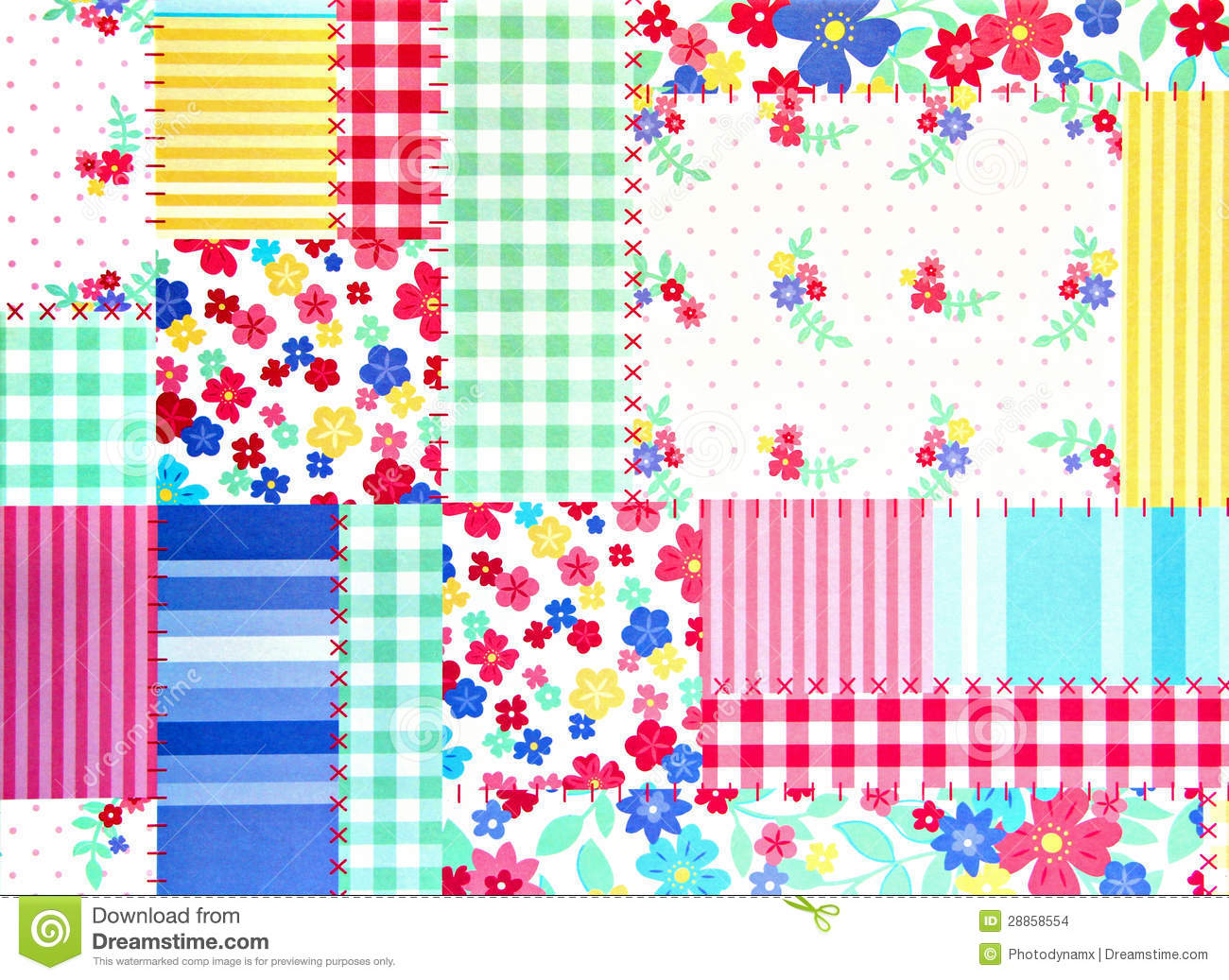 patchwork background floral patchwork background stock images image 28858554 9804