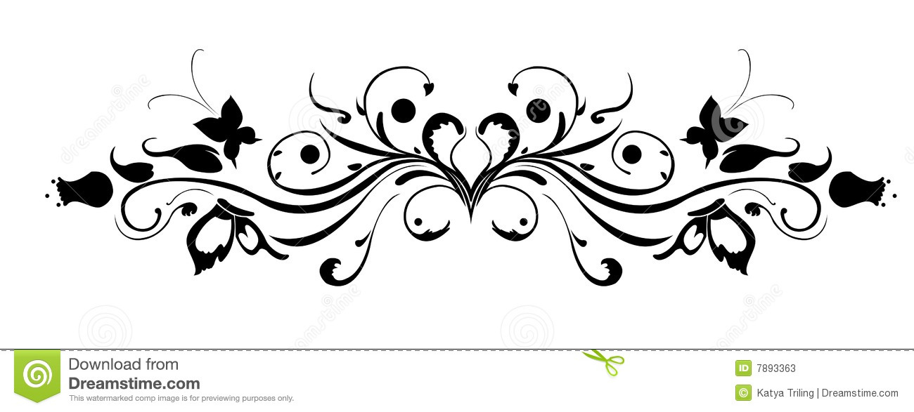 floral pattern stock vector illustration of obsolete 7893363