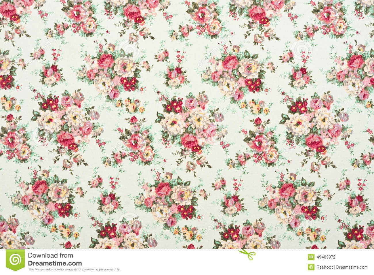 floral patterned canvas fabric - photo #49