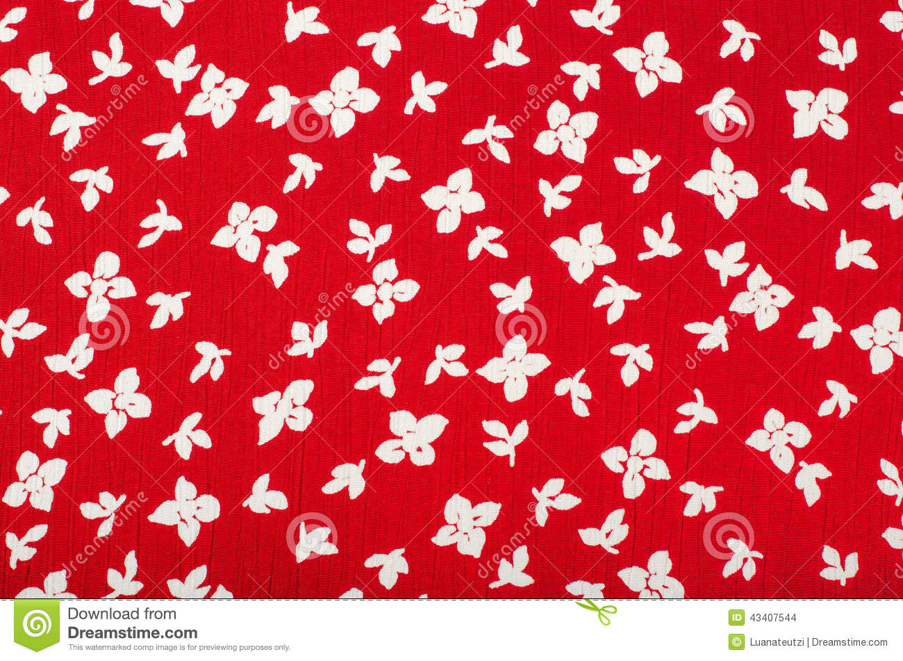Floral pattern red and white flowers print as background stock floral pattern red and white flowers print as background mightylinksfo