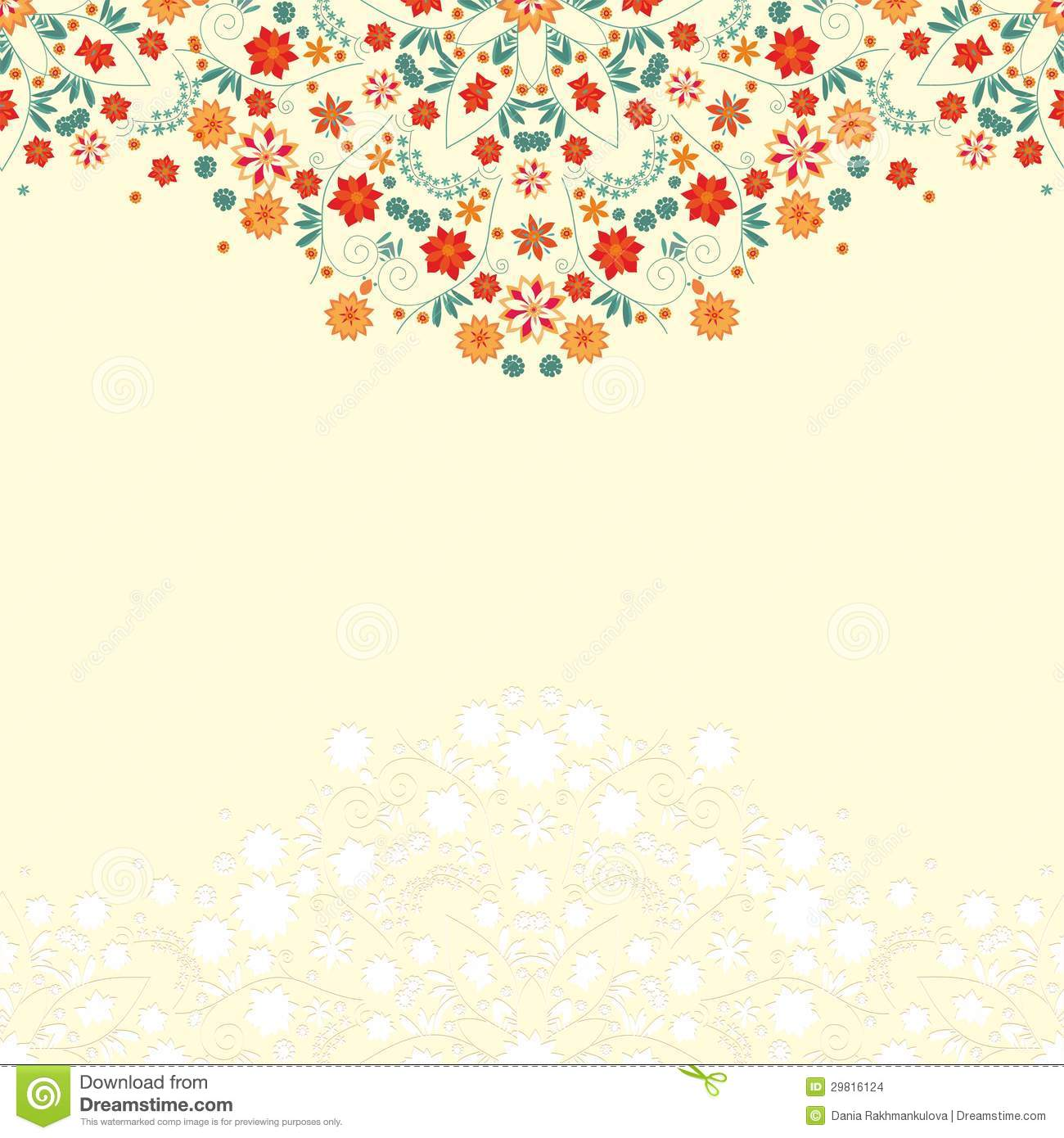 Cute Scrapbook Paper Patterns Floral pattern for scrapbook