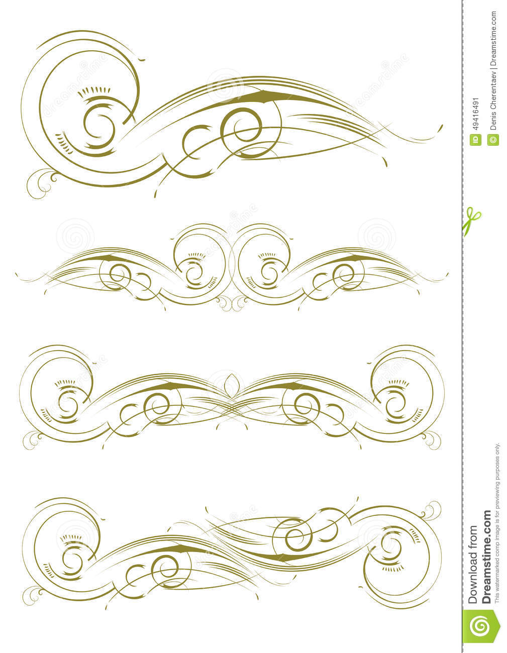 floral patterns set stock vector illustration of exquisite 49416491