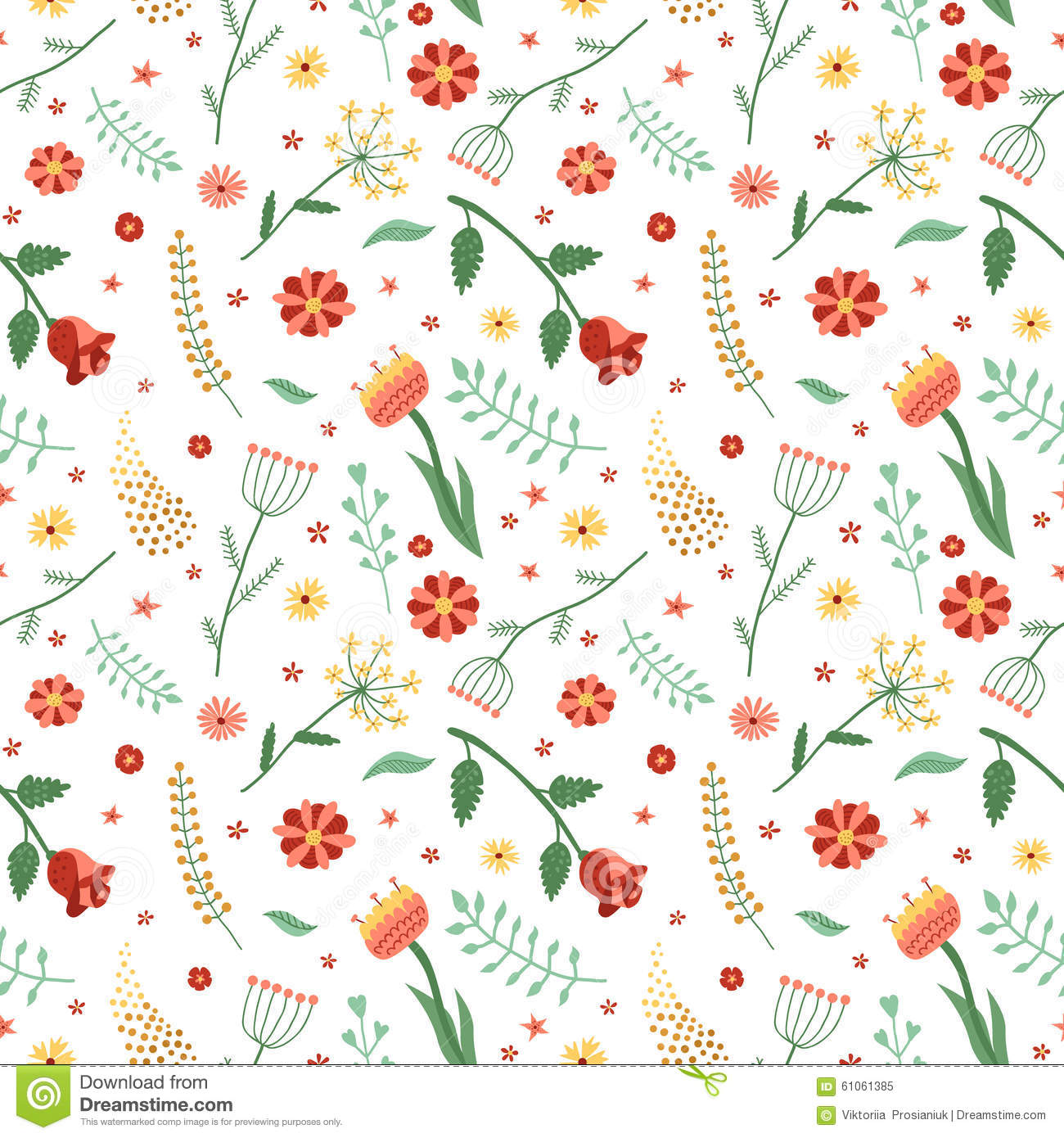Floral and plant vector seamless pattern wrapping paper design floral and plant vector seamless pattern wrapping paper design mightylinksfo