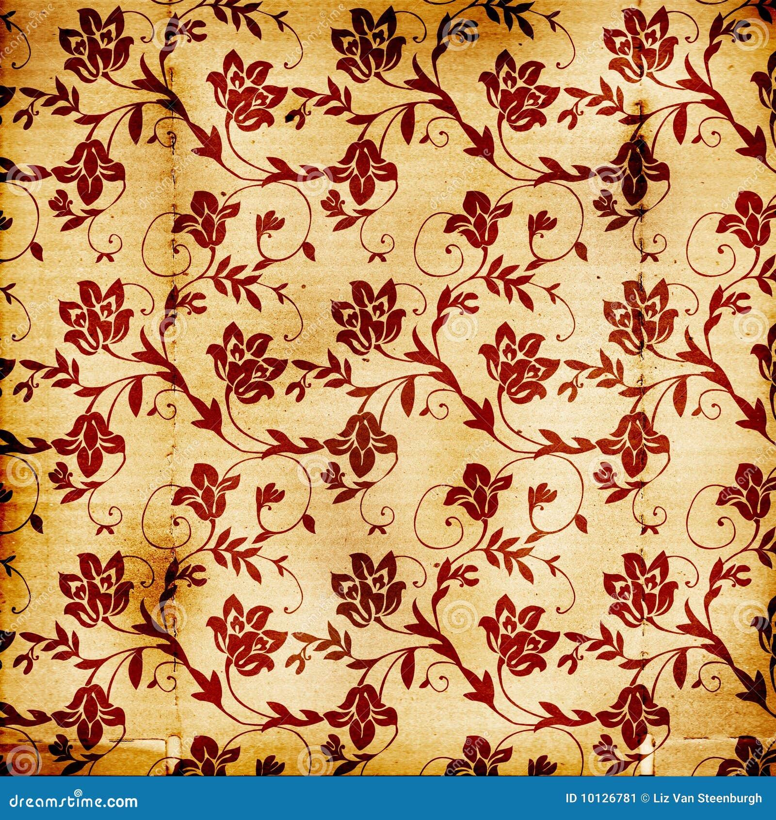 floral print background stock illustration illustration of grunge