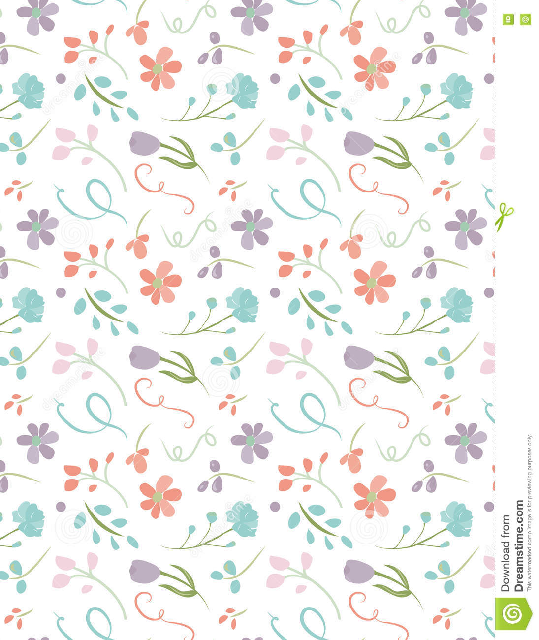 Floral repeating seamless pattern pretty flower background stock floral repeating seamless pattern pretty flower background mightylinksfo