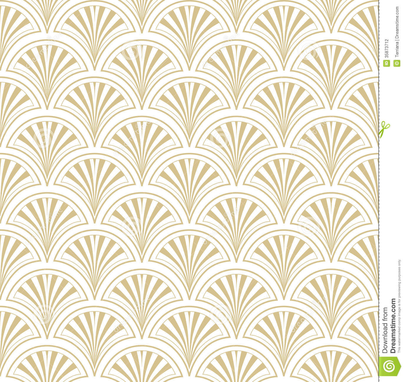 Green and white floral pattern - photo#54