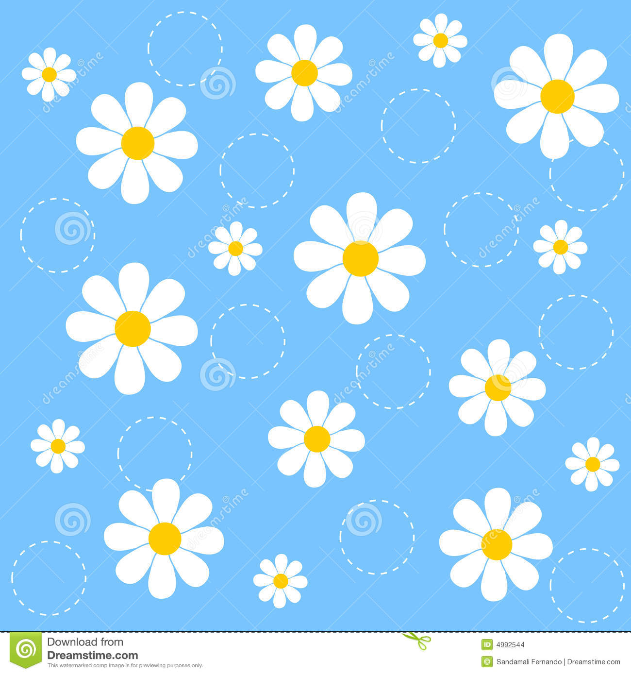Floral Seamless Pattern Stock Vector. Illustration Of