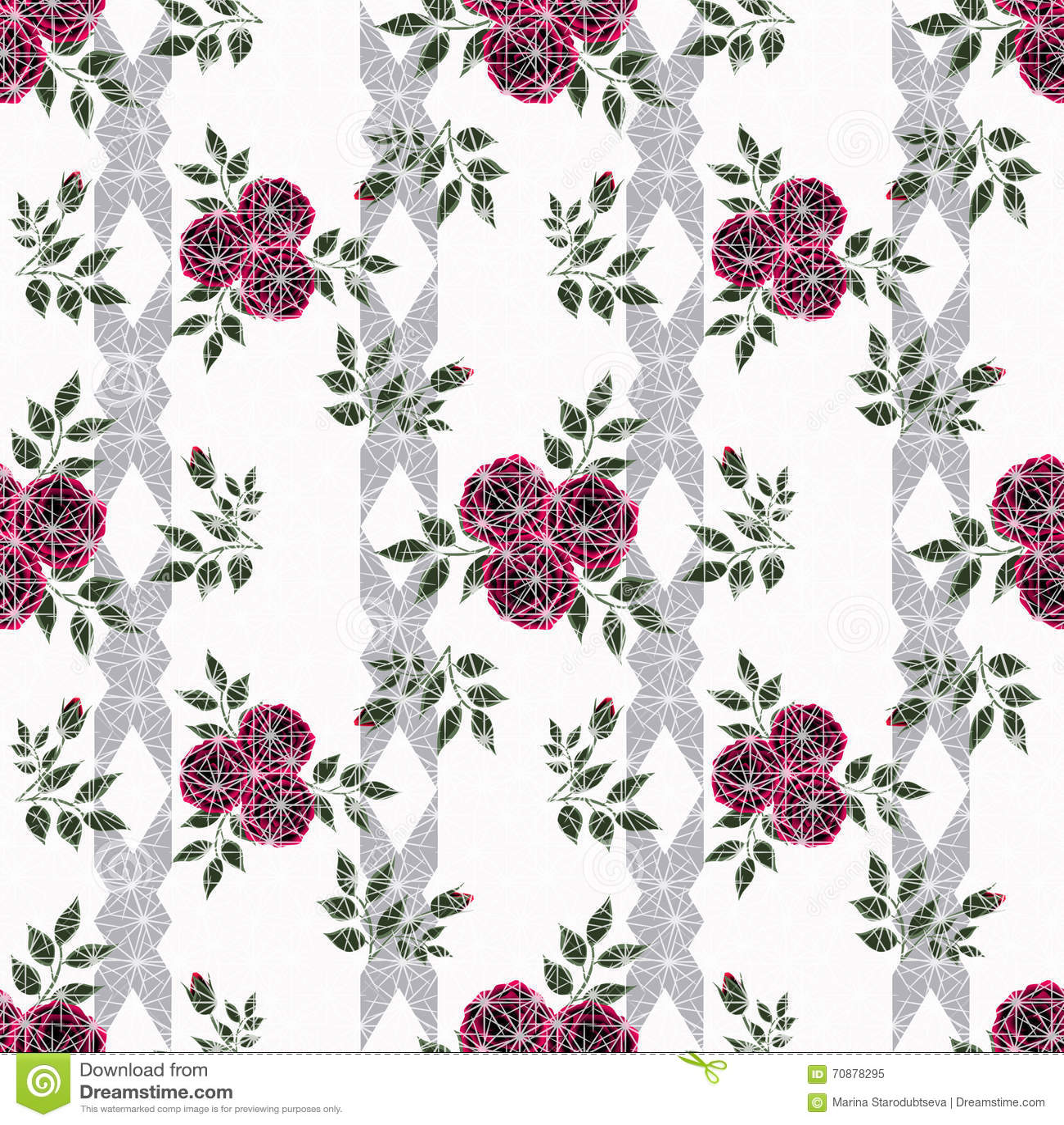 Floral seamless pattern cute cartoon flowers white stripe download floral seamless pattern cute cartoon flowers white stripe background stock illustration illustration of izmirmasajfo