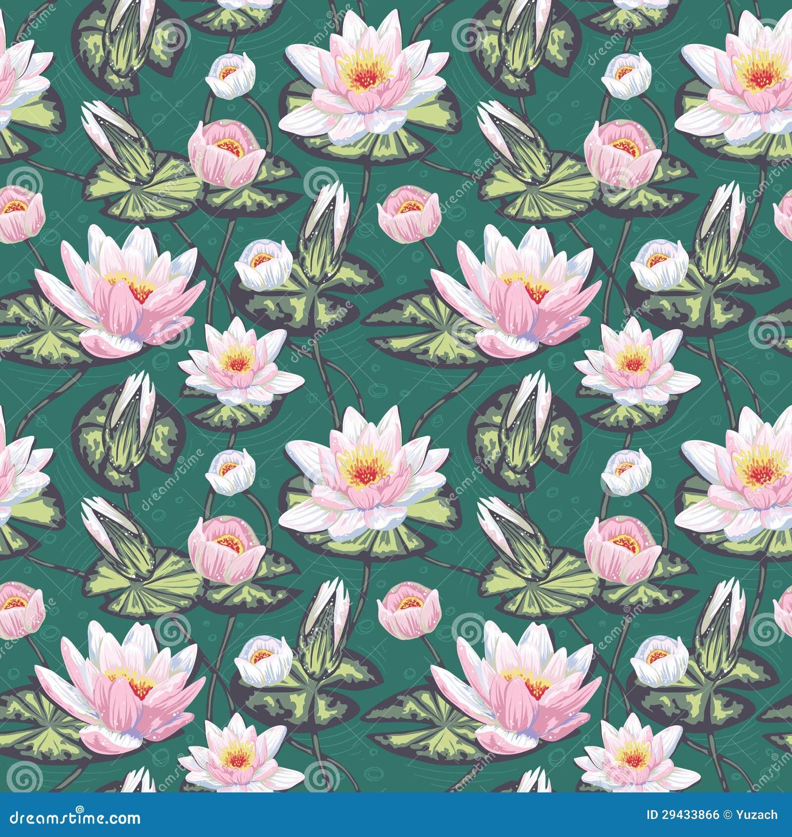 Retro Floral Wallpaper Vintage Patterns