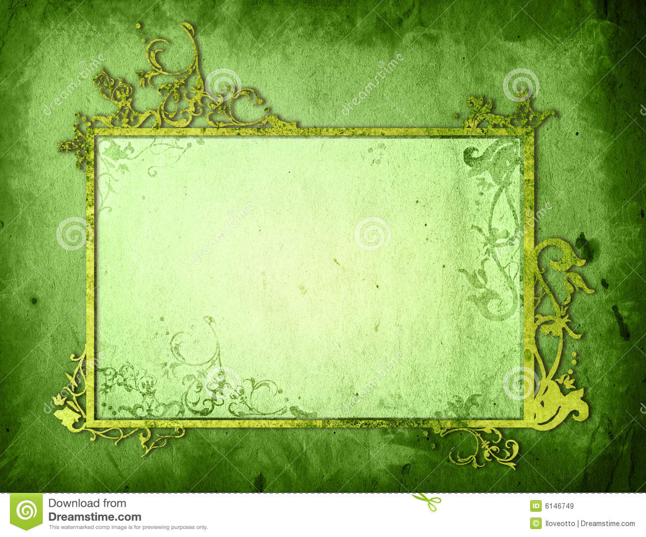 Girly Background Royalty Free Stock Photo: Floral Style Background Frame Stock Illustration