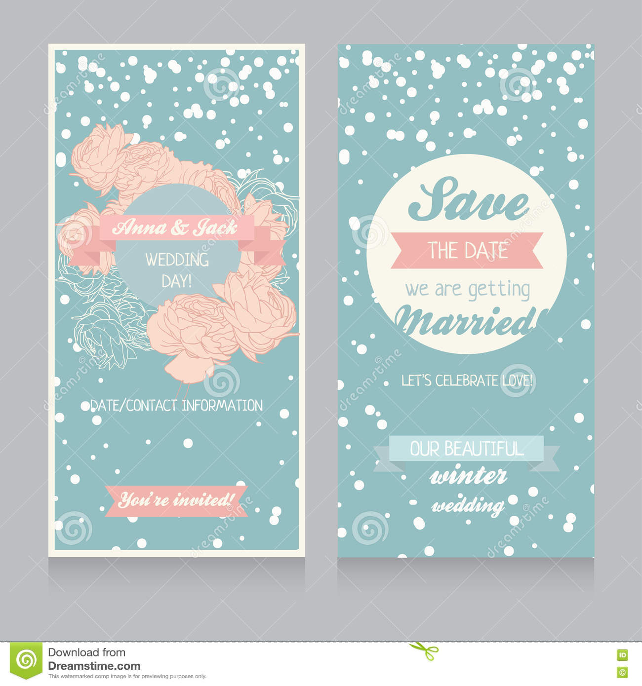 winter wedding invitation templates free - Military.bralicious.co