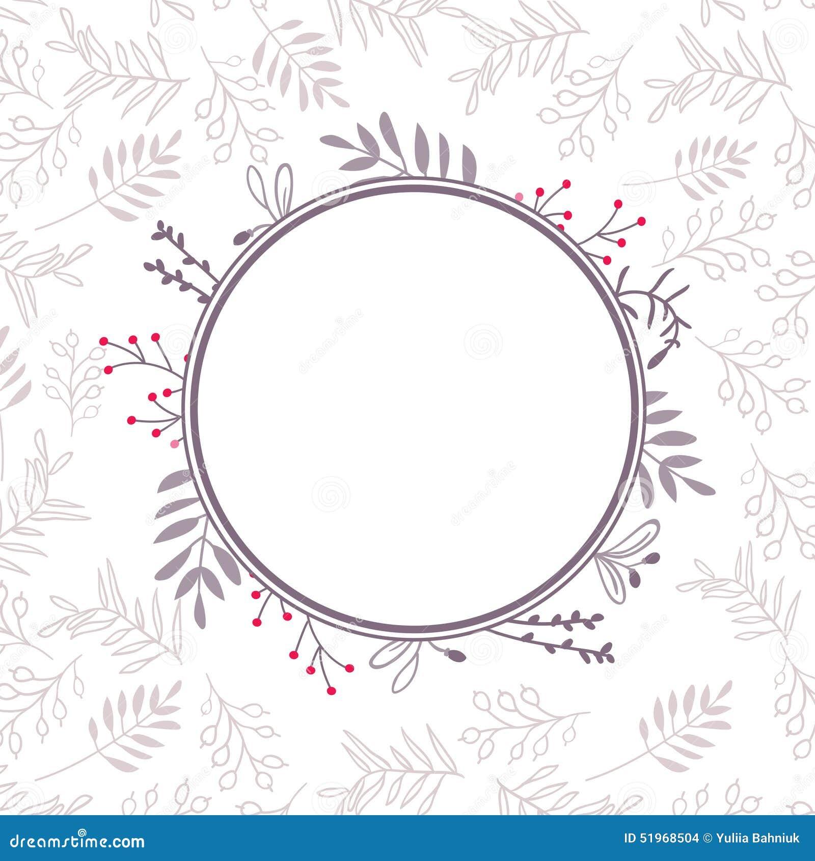 floral vector frame stock vector image 51968504 Wedding Card Frame Border Vector floral vector frame stock vector · abstract autumn banner border card wedding card frame border vector