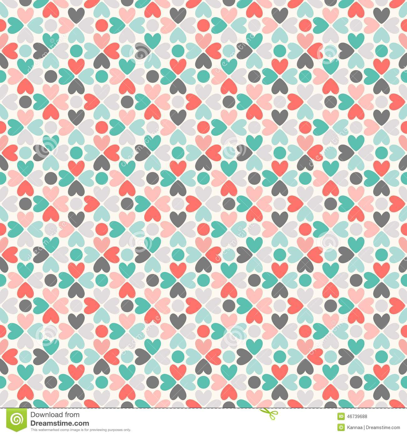 Floral vector seamless pattern red green black stock for Papel decorativo azul