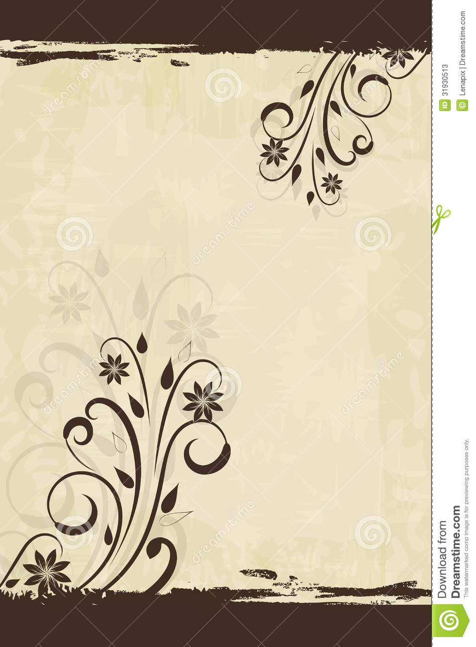 Book Cover Background Jobs : Floral vintage background stock vector illustration of
