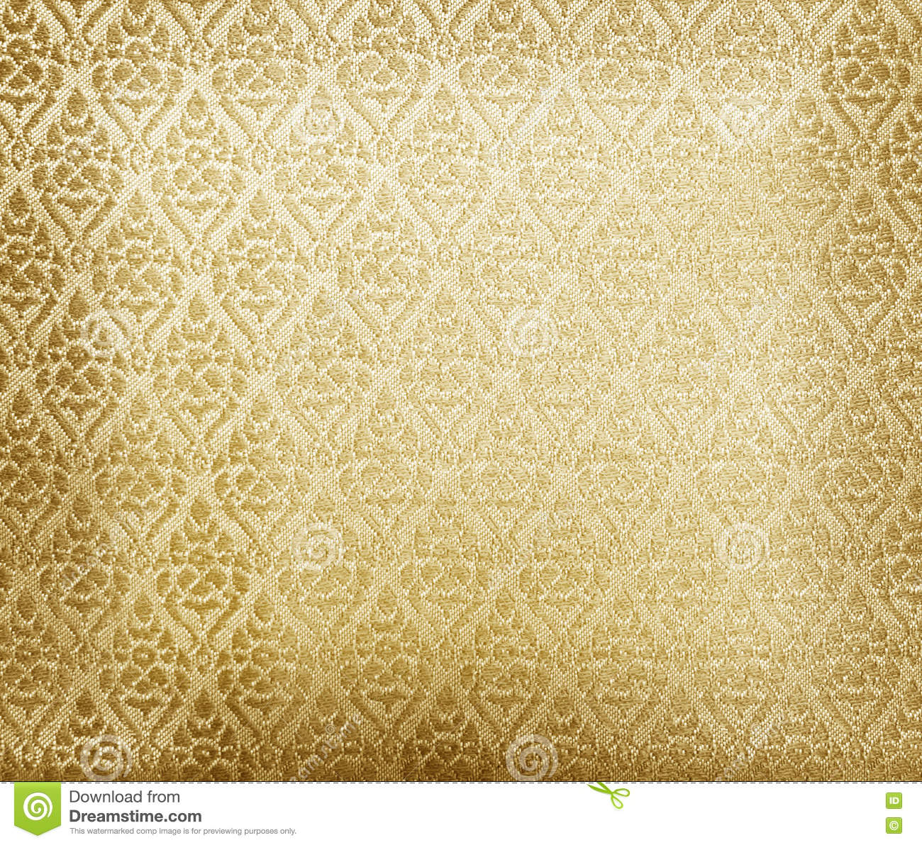 Floral Wallpaper Pattern Light Yellow Abstract Stock