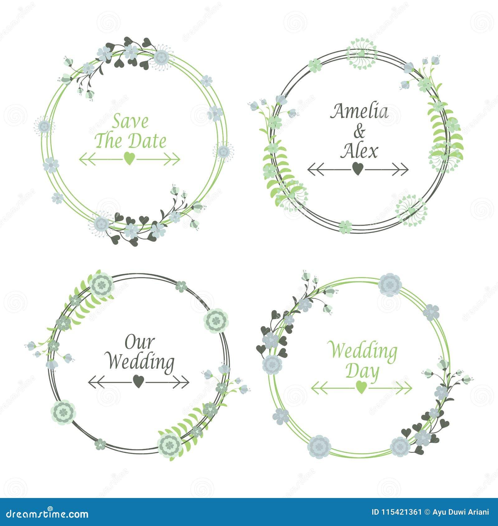 wedding sticker design template - Ataum berglauf-verband com